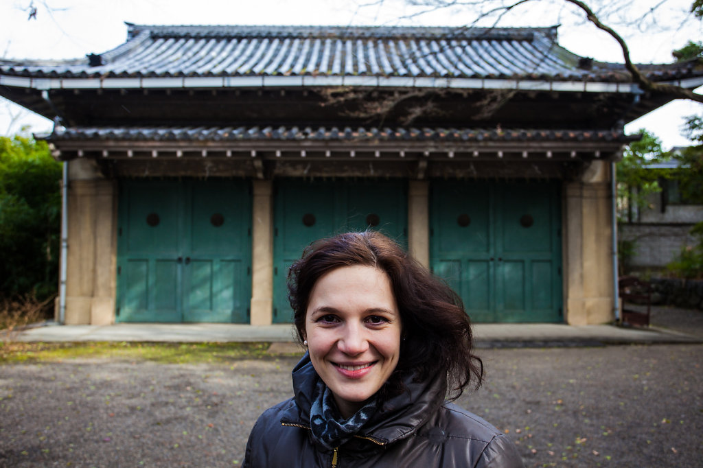 My love in Kyoto, Japan